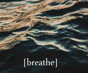 breathe, sea, and float image