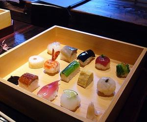 japan, yummy, and sushi image