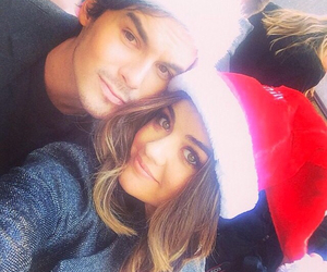 lucy hale, pretty little liars, and tyler blackburn image