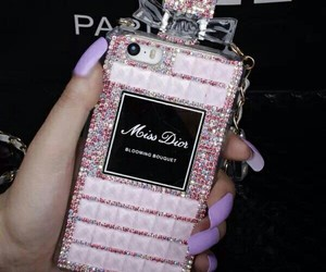 pink, iphone, and miss dior image