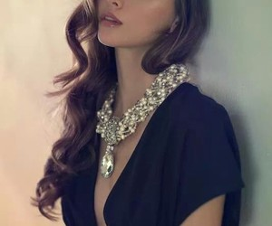 fashion, necklace, and photography image