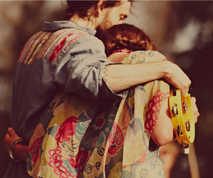 love, hippie, and music image