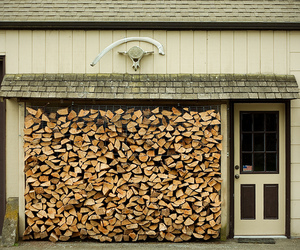neat, wood, and garage image