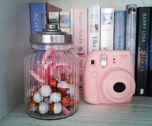 new, pink, and instax mini 8 image