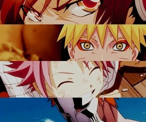 naruto, fairy tail, and anime image
