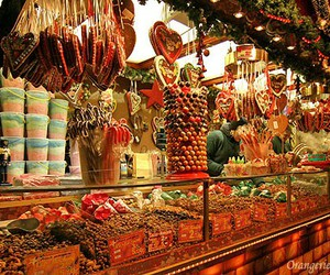 weihnachtsmarkt, christmas, and sweets image