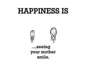 mother, smile, and happiness image