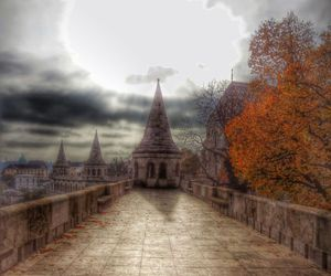 autumn, budapest, and place image