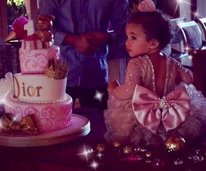 baby, cake, and dior image