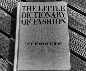 book, black and white, and dior image