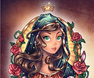 tattoo, art, and princess image