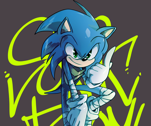 graffitis, sonic, and video games image