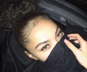 eyes, baddie, and black image