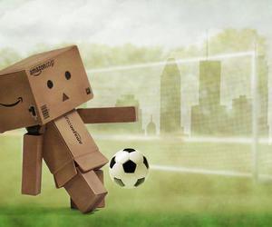 danbo, footbal, and football image