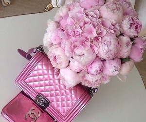 chanel, pink, and girly image
