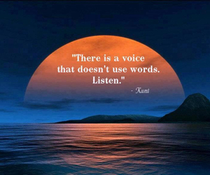 quotes, listen, and Rumi image