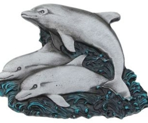animal, buckle, and dolphins image