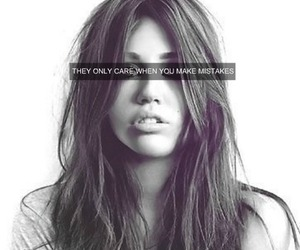 miley cyrus, mistakes, and quotes image