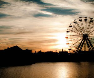 cool, we are young, and ferris wheel image