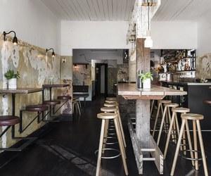 city, interior, and restaurant image