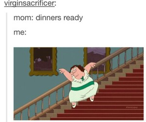 dinner, mom, and funny image