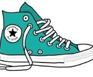 converse, cool, and shoes image