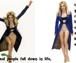 Carrie Bradshaw, catwalk, and fall image