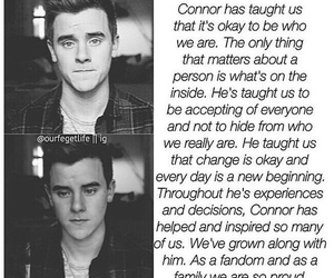 Connor, coming out, and franta image