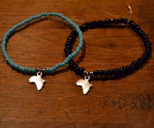 africa, black, and bracelet image