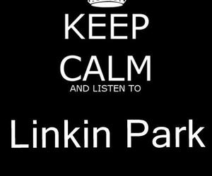 black and white, text, and linkin park image