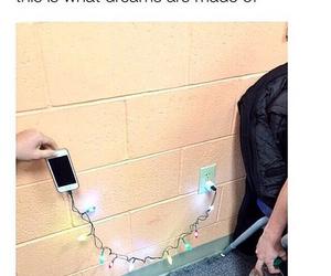 charger, christmas, and funny image