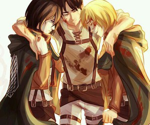 shingeki no kyojin, anime, and attack on titan image
