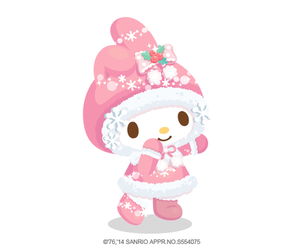 christmas, merry christmas, and my melody image