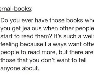 books, true, and jealous image