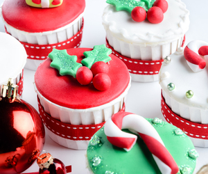 candy cane, christmas, and desserts image