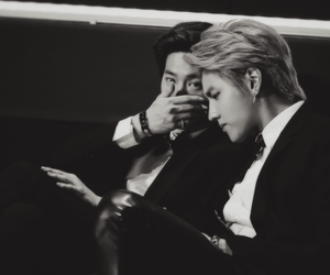 exo, kris, and suho image