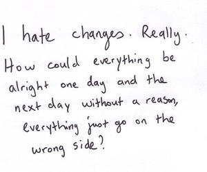 quote, change, and hate image