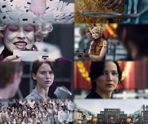 katniss, catching fire, and Jennifer Lawrence image