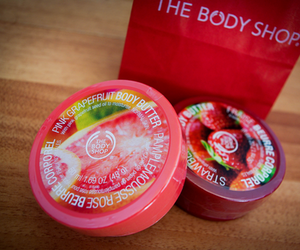 the body shop, body, and pink image