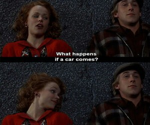 the notebook, car, and movie image