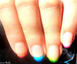 avon, colorful, and nail art image