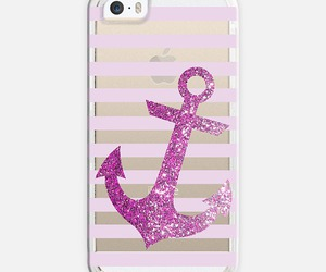 anchor, glitter, and nautical image