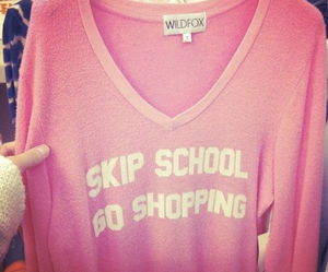 shopping, pink, and fashion image