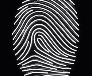 black, dark, and fingerprint image