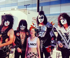paramore, kiss, and hayley williams image