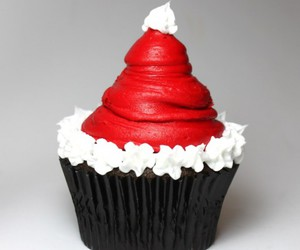 cupcake, cake, and christmas image