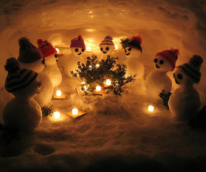 xmas, love, and snowman's image