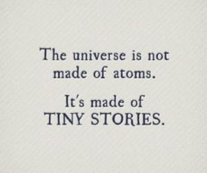 universe, story, and quotes image