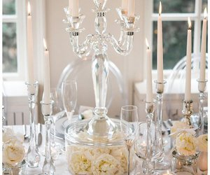 centerpieces, decor, and glass image