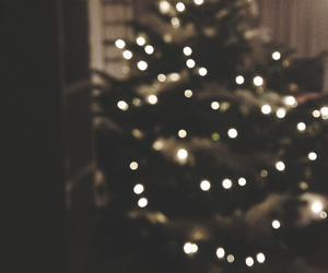 christmas, cozy, and lights image